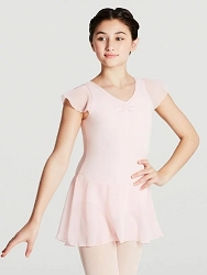 Flutter Sleeve Dress by Capezio