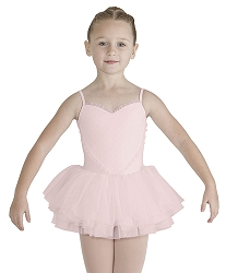 Girls Valentine Heart Front Tutu Dress by Bloch