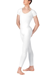 Mens Short Sleeve Scoop Neck Unitard by Baltogs
