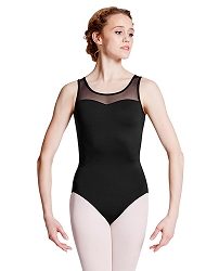 Briolette Mesh Back Tank Leotard by Bloch