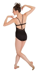 Pointelle Mesh Bustier Leotard by Premiere