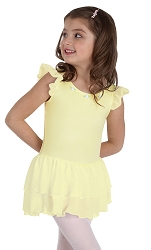 Princess Aurora Flutter Sleeve Dance Dress by Body Wrappers