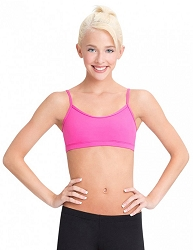Team Basic Camisole Bra Top by Capezio