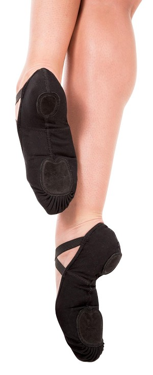 4-Way totalSTRETCH Pull-On Ballet Slipper by Angelo Luzio/Body Wrappers