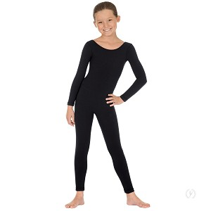 Girls Long Sleeve Unitard by Eurotard