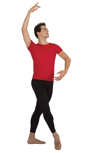 Mens Crop Dance Pant by Body Wrappers