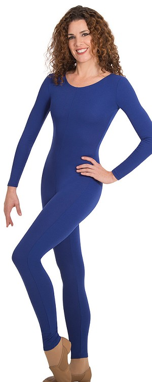 Childrens Long Sleeve Nylon Unitard by Body Wrappers-MT117
